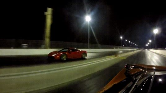 McLaren 720S Shows Ferrari 488 GTB Who Is The Boss In A Drag Race