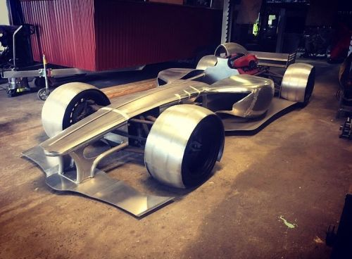 Man Behind Batmobile Now Building A Road-Going F1 Car With A Ferrari V12 Engine