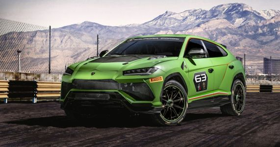 Lamborghini Is Going Rallycross Racing. With The Urus Super-SUV