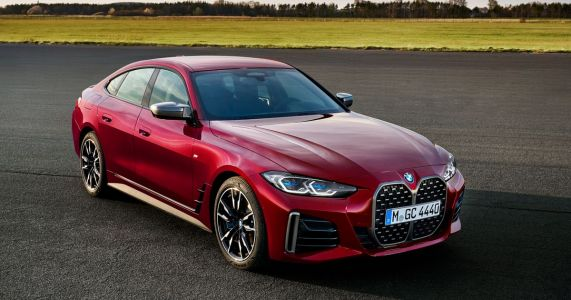 The New BMW 4-Series Gran Coupe Balances Out A Big Grille With More Doors