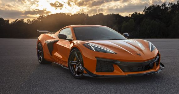 670bhp Chevrolet Corvette Z06 Brings The Wings And Lots Of V8 Noise