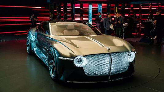 Bentley EXP 100 GT Concept Revealed Packing 1,500 Nm
