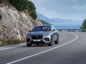 Jaguar F-Pace Facelift Unveiled Gets PHEV Powertrains Updated Kit And More