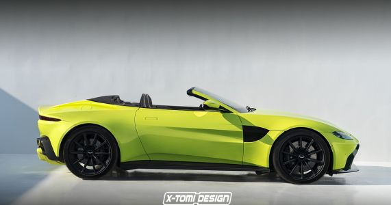 Here's How The New Aston Vantage Looks As A Roadster And Shooting Brake