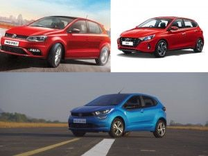 Tata Altroz iTurbo vs Volkswagen Polo TSI vs Hyundai i20 Turbo Engine Specs And Fuel Efficiency Compared