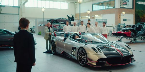 Pagani Huayra Roadster BC Commercial Shows What Passion Is All About
