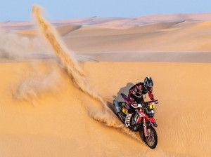 Dakar 2020 Brabec Sainz And Karginov Consolidate Overall Leads After Shortened Stage 10