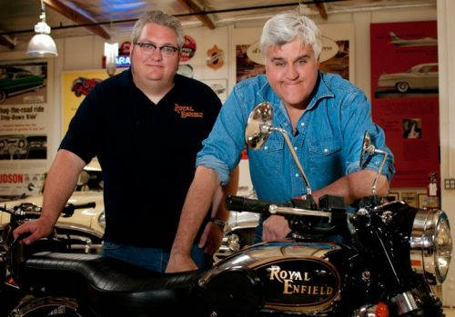 Royal Enfield in Jay Leno's Garage