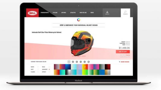 Bell Helmets Launches Custom Helmet Design Platform