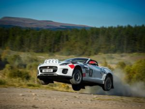 I Wish I Could Rally A Jaguar F-Type Said No One Ever