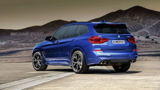 BMW X3 M and X4 M Get Rendered Accurately