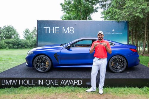Hole-In-One Scores Golfer A BMW M8 Competition