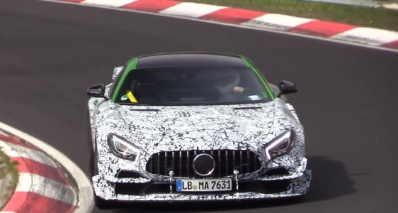 Hold On, This Mercedes-AMG GT Does Not Sound Like A V8 Which Means It Is Not A Black Series