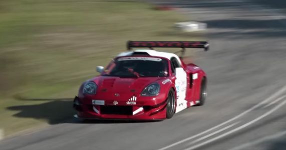 Here's A Cute But Terrifying V6 Toyota MR2 With 680bhp