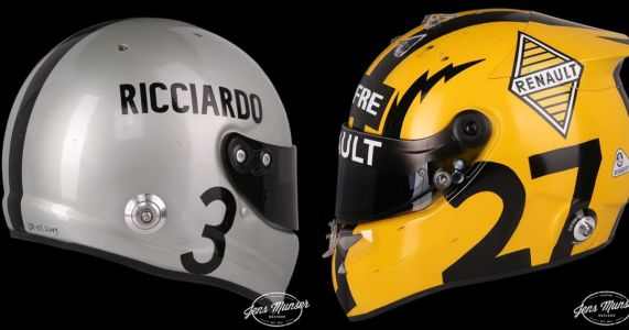 F1 Drivers Are Running a Bunch Of Special Helmet Designs To Celebrate The 1000th GP