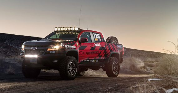 Now You Can Build A Desert Racing Spec Chevrolet Colorado ZR2