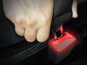 Illuminated Seat Belt Buckle Patent Filed By Skoda Aims To Improve Safety