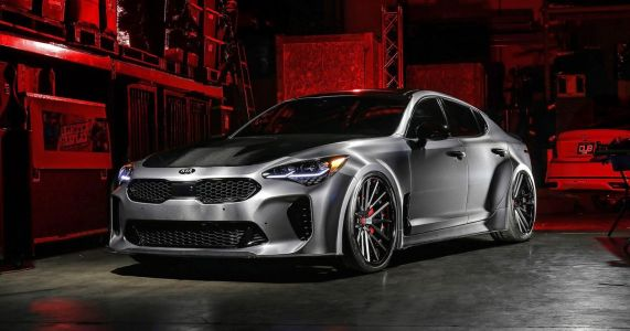 Feel The Fury Of Kia's Wide-Body Stinger