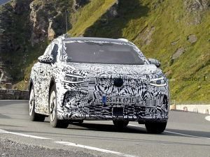 Volkswagen ID4 Crossover Spied On Test