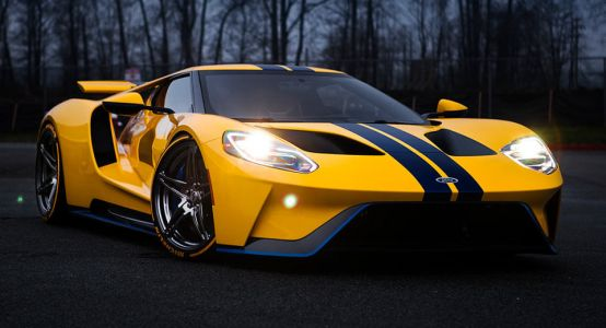 Ford GT On Custom Wheels Is PURe Wallpaper Material