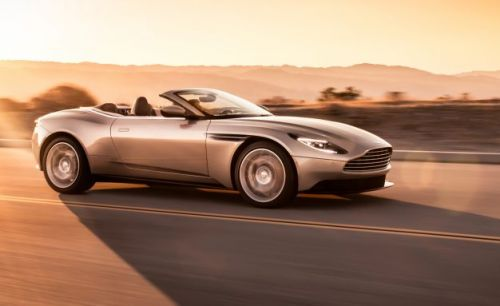 2019 Aston Martin DB11 Volante: With the Convertible You Get the V-8