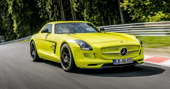 AMG's Electric SLS Is A 740bhp Modern History Lesson In BEV Performance