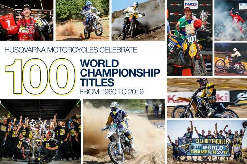Husqvarna Celebrates 100 World Championship Titles