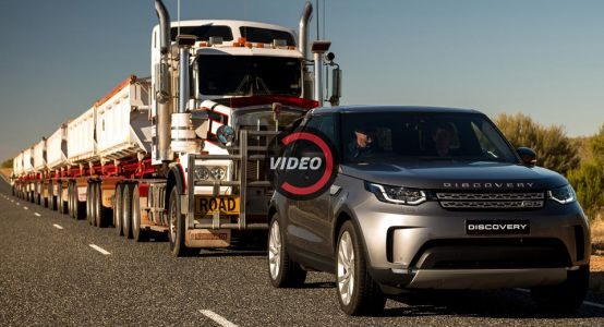 Can A Land Rover Discovery Tow A 120-Ton Road Train? Yes, Yes It Can
