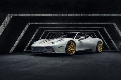 Vorsteiner Ferrari 458-VX Aero Program Is Quite Extreme