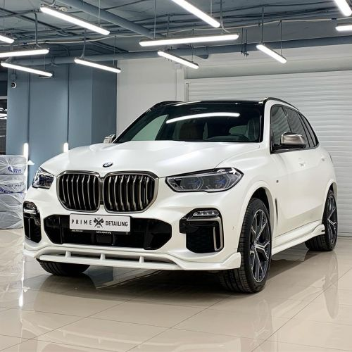 Russian Tuner Paradigm Releases Custom Body Kit for G05 BMW X5