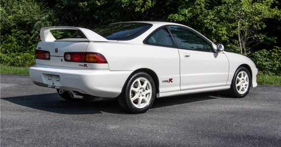 A Barely-Used Acura Integra Type R Just Fetched $64k At Auction