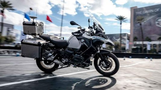 BMW Showcases Autonomous R1200GS At CES