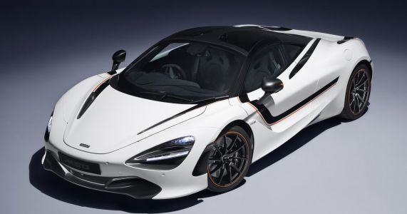 The McLaren 720S 'Track Theme' Is All Stripes And Carbonfibre