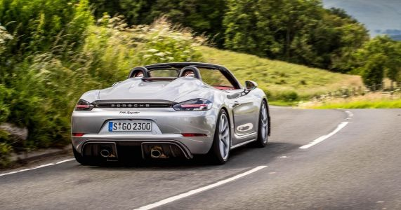 Why I'd Have A Porsche Boxster Spyder Over The 718 Cayman GT4