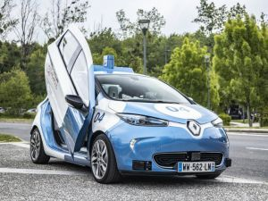 Renault Unveils New Self-driving Urban Mobility Concepts