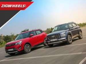 Hyundai Venue vs Mahindra XUV3OO Comparison Review and Tested on road and track