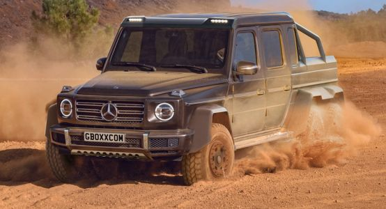 It Doesn't Take Much To Turn Mercedes' All-New G-Class Into A 6x6