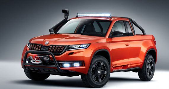 The Skoda Mountiaq Is A Winch-Toting Pickup Built By Students