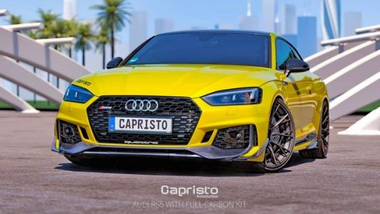 RS5 Gets Body Mods from Capristo Automotive