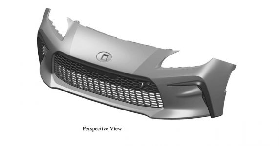 New Toyota 86's Front End Revealed In Patent Pics
