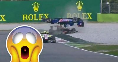 This Ridiculously Flip At Monza Is Peak GP2