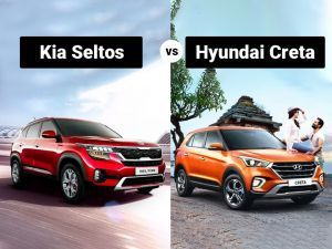 Kia Seltos vs Hyundai Creta Spec Comparison