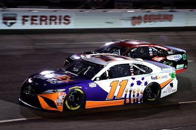 Denny Hamlin is +550 to win 2021 Toyota Owners 400 at Richmond