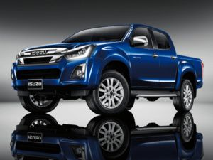 Spotted Isuzu D-Max V-Cross Facelift