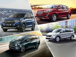 Maruti Suzuki XL6 vs Ertiga vs Marazzo vs Lodgy