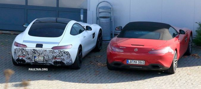 Six-Cylinder Mercedes-AMG GT Spotted