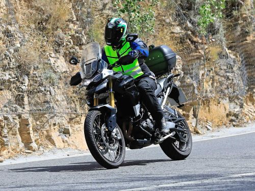 Triumph Tiger 800 And Tiger 1000 Spied Testing