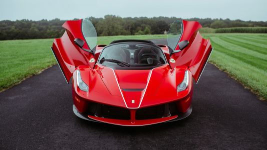 Mecum To Auction Ferrari LaFerrari Coupe And Aperta Duo