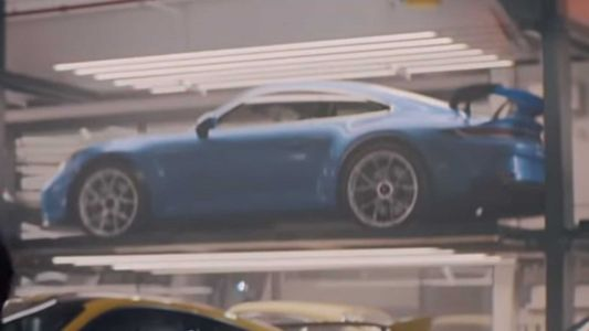 New Porsche 911 GT3 Teased in Super Bowl Ad