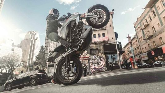 Zero SR/F Electric Motorcycle First Look